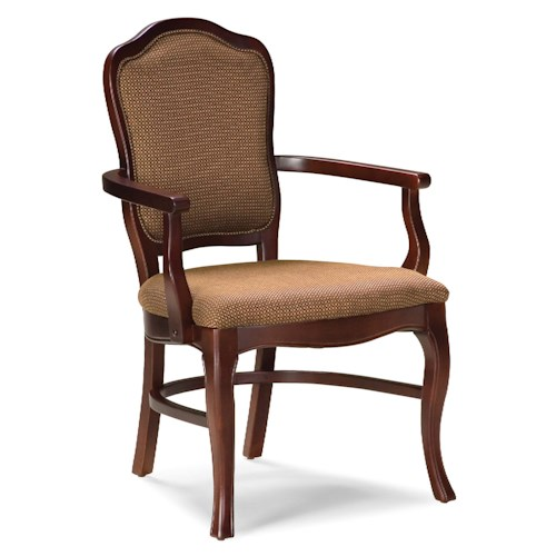 Fairfield Chairs Traditional Exposed-Wood Chair