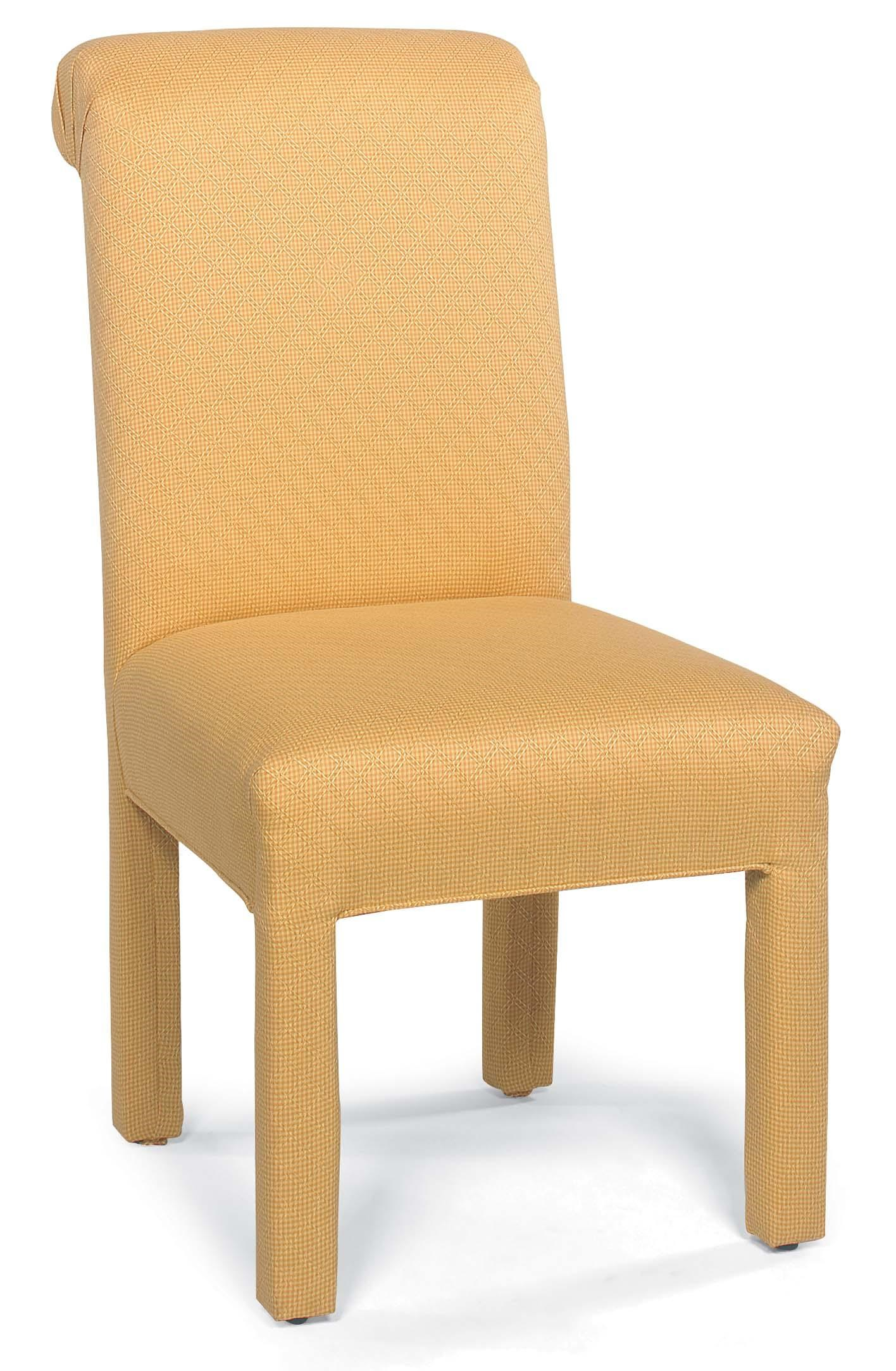 Chairs Stationary Armless Chair With Upholstered Legs By Fairfield