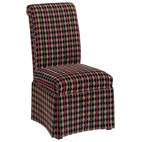 Fairfield Chairs Armless Chair with Slight Flared Back