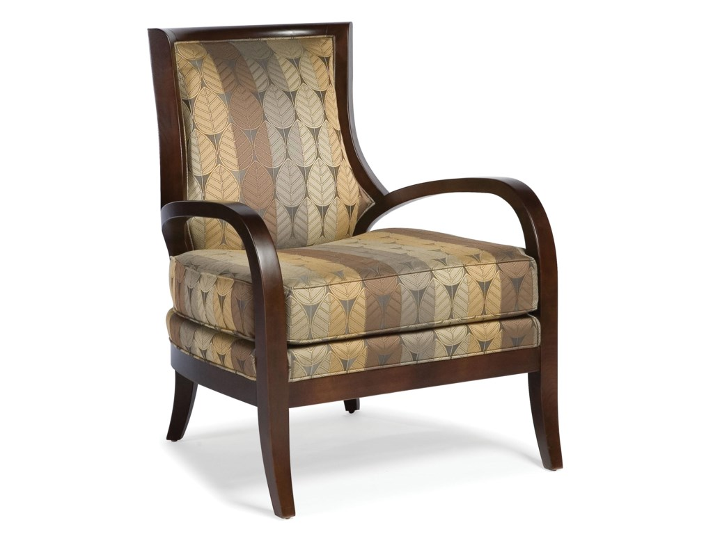 Fairfield ChairsStationary Exposed Wood Chair
