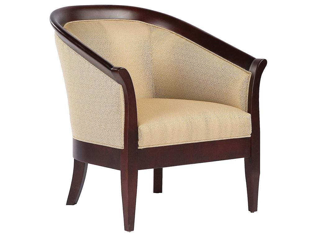 Fairfield Chairs High Arm Wrap Around Accent Chair Belfort