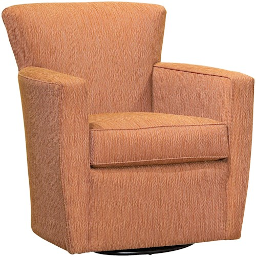Fairfield Chairs Contemporary Swivel Accent Chair