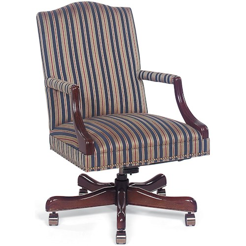 Fairfield Office Furnishings Fabric Upholstered Executive Swivel Chair
