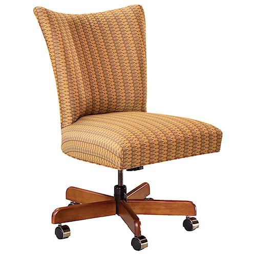 Fairfield Office Furnishings Contemporary Armless Swivel Chair
