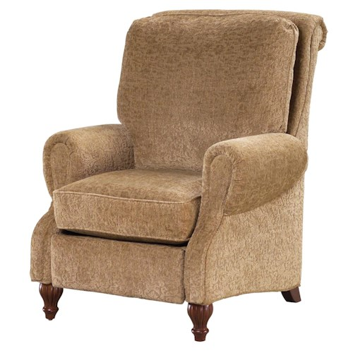 Fairfield Recliner Accents Elegant Traditionally Styled Recliner