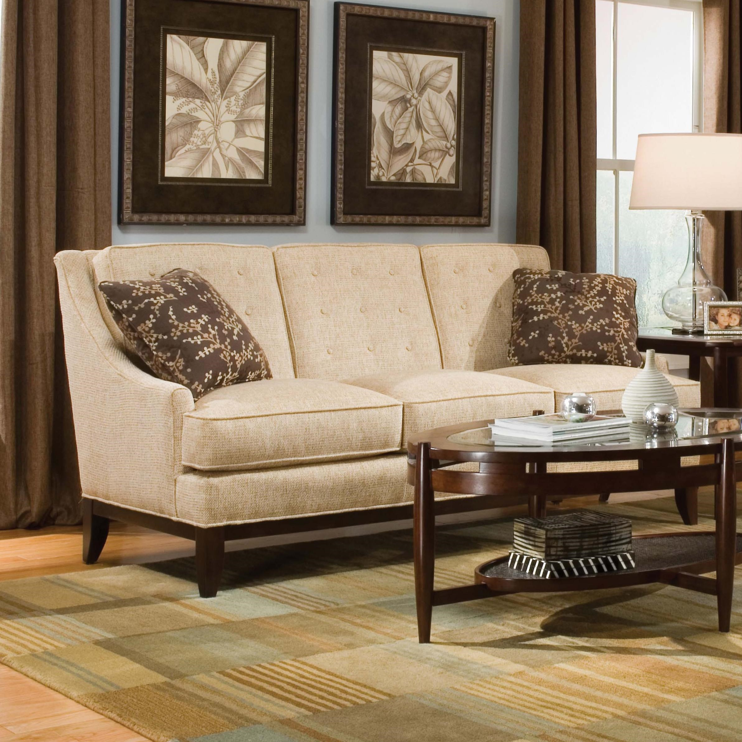 Fairfield Sofa Accents Button Tufted Accent Sofa