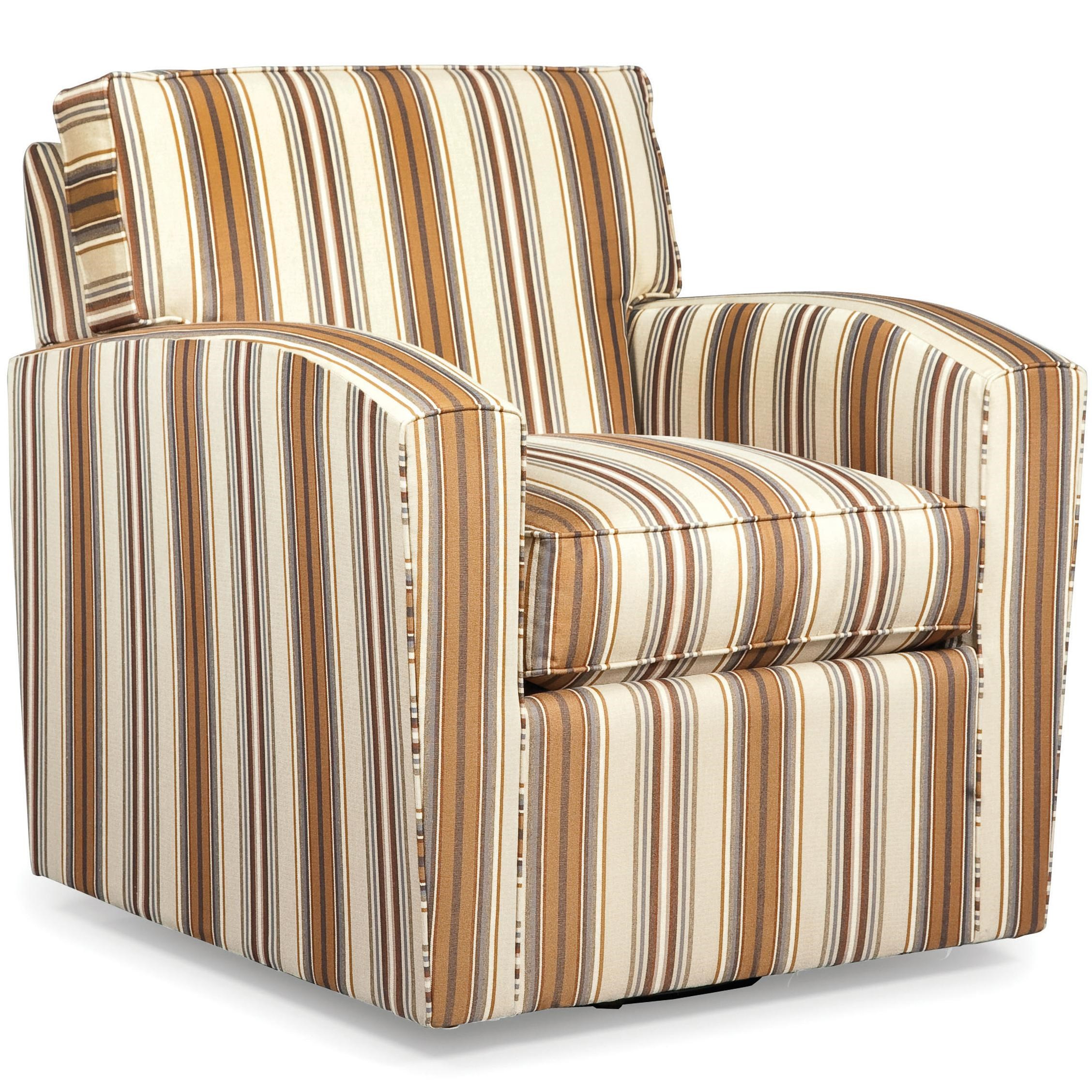 Chair Upholstered Swivel Accent Chair