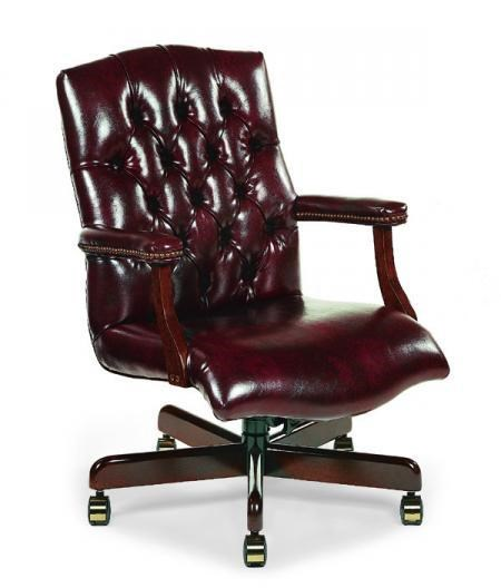 Picture of: Fairfield Office Furnishings 1059 35 Leather Office Swivel Chair Thornton Furniture Office Task Chairs