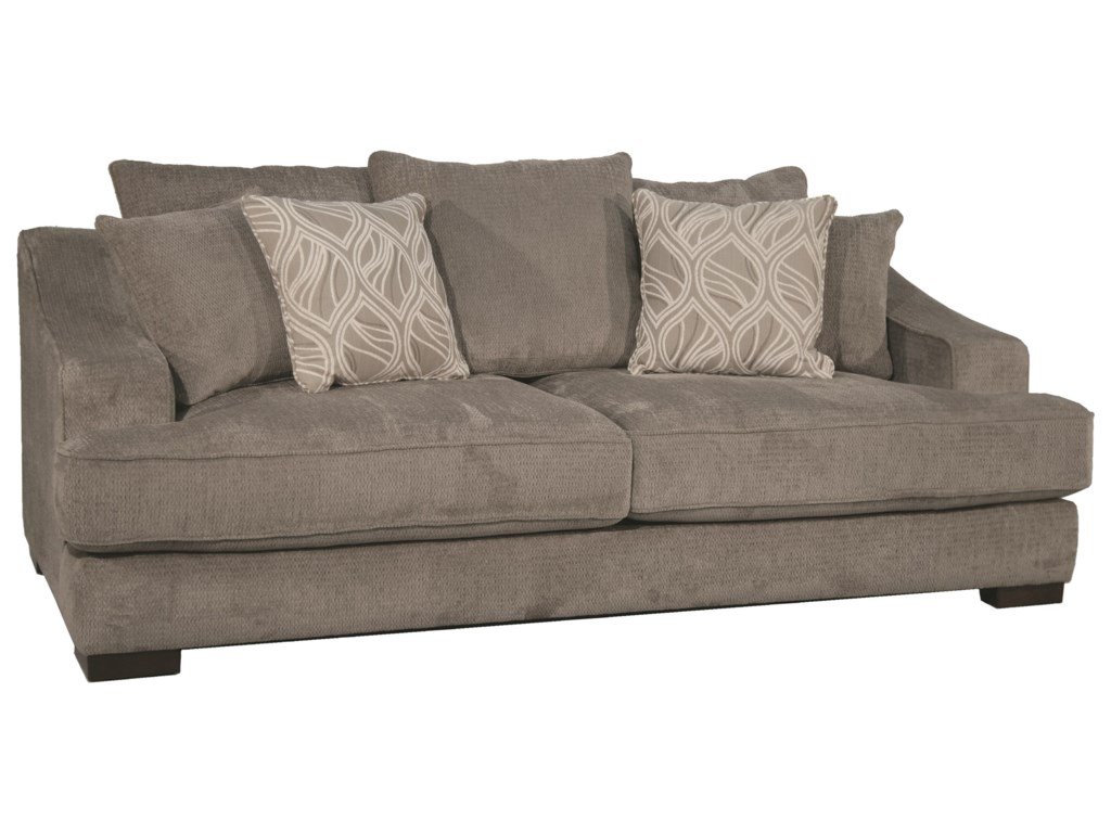 Sofa Deep Deep Seated Sofa Creates Comfort In The Living