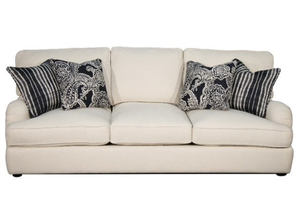 Calcutta Transitional Sofa With English Arms By Fairmont Designs