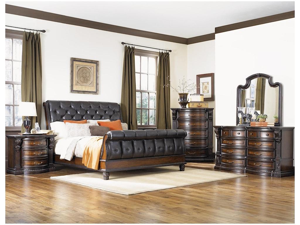 Fairmont Designs Grand EstatesQueen 5 Piece Bedroom Group