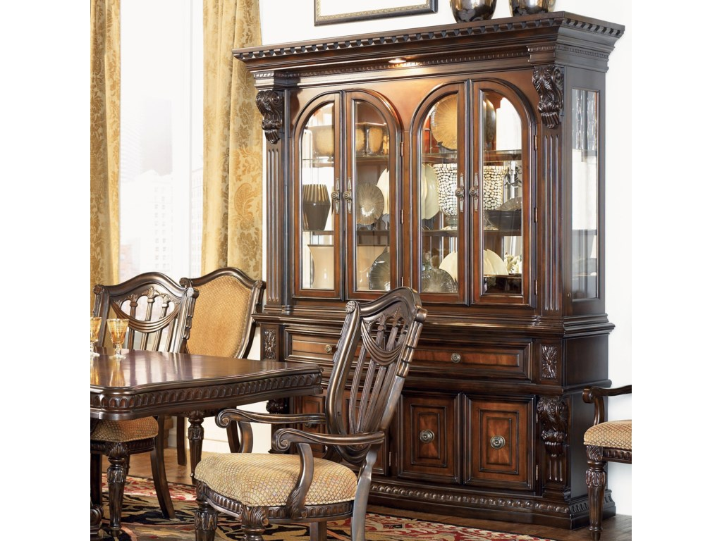 Grand Rapids China Cabinet Hutch