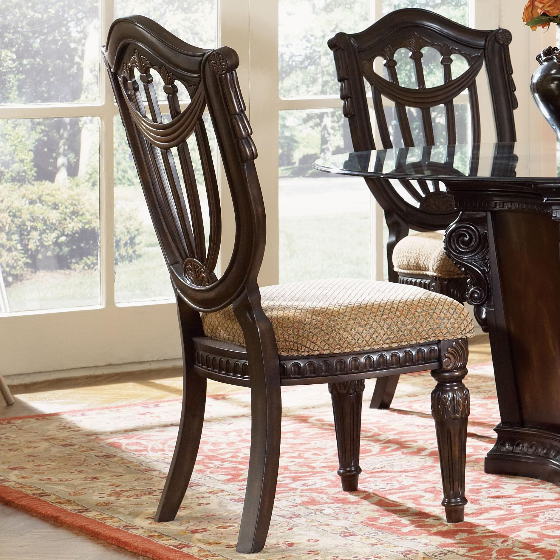 Fairmont Designs Grand EstatesWood Back Side Chair ...