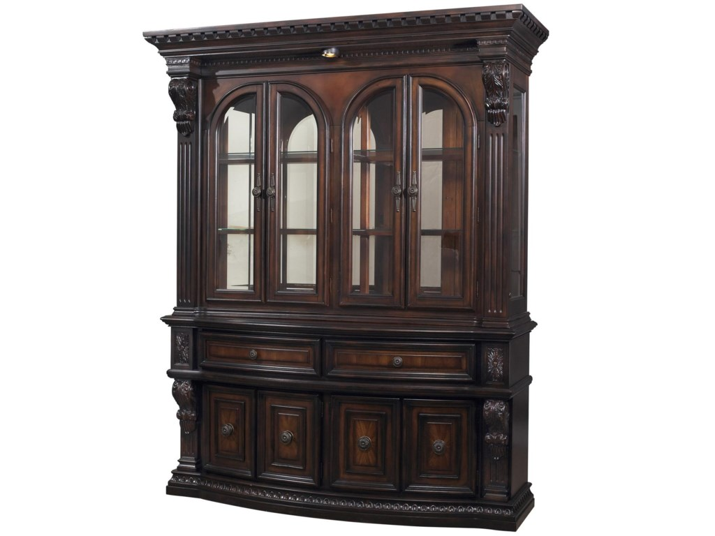Fairmont Designs Grand Estates China Cabinet Hutch Royal Furniture