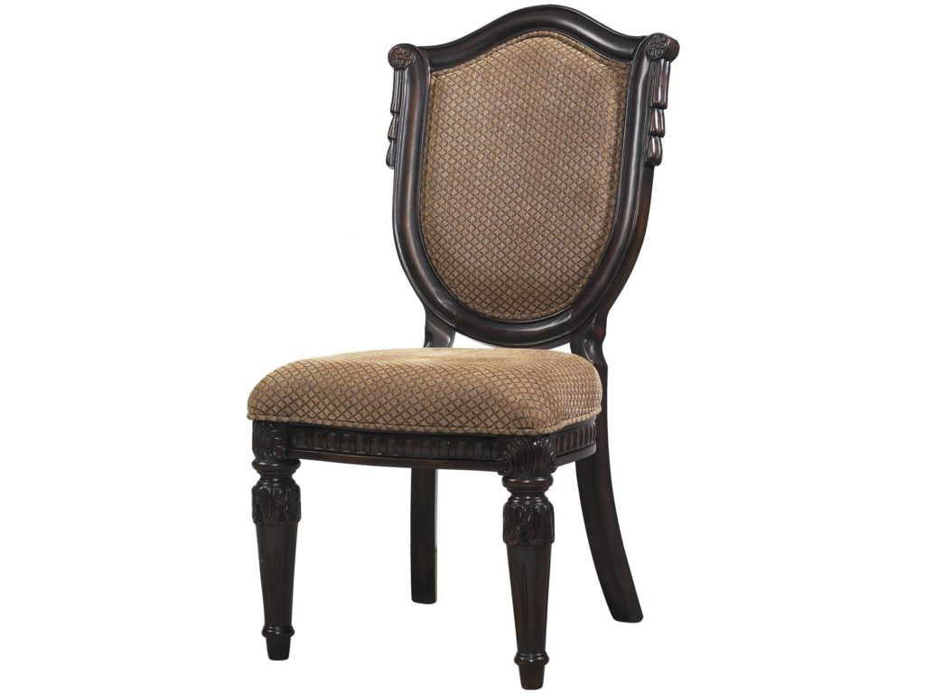 Morris Home Furnishings Grand RapidsGrand Rapids Dining Side Chair ... - Grand Rapids Upholstered Side Chair W/ Shield Back Morris Home