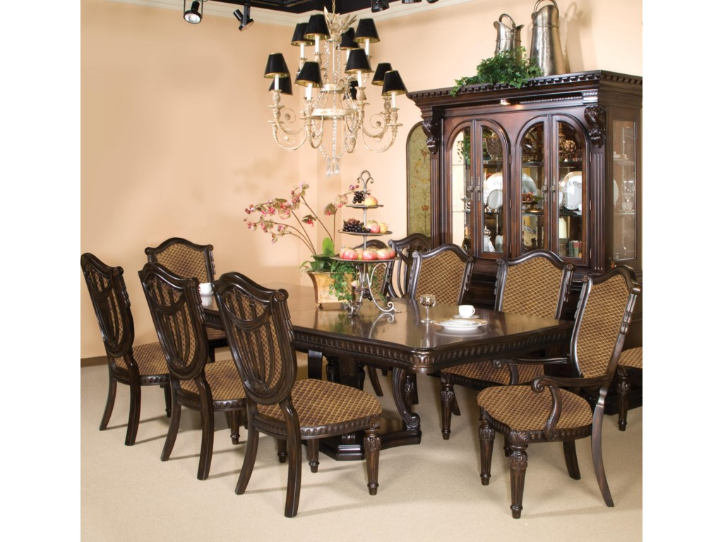 Fairmont Designs Grand Estates 7 Piece Dining and Chair Set | Royal ...