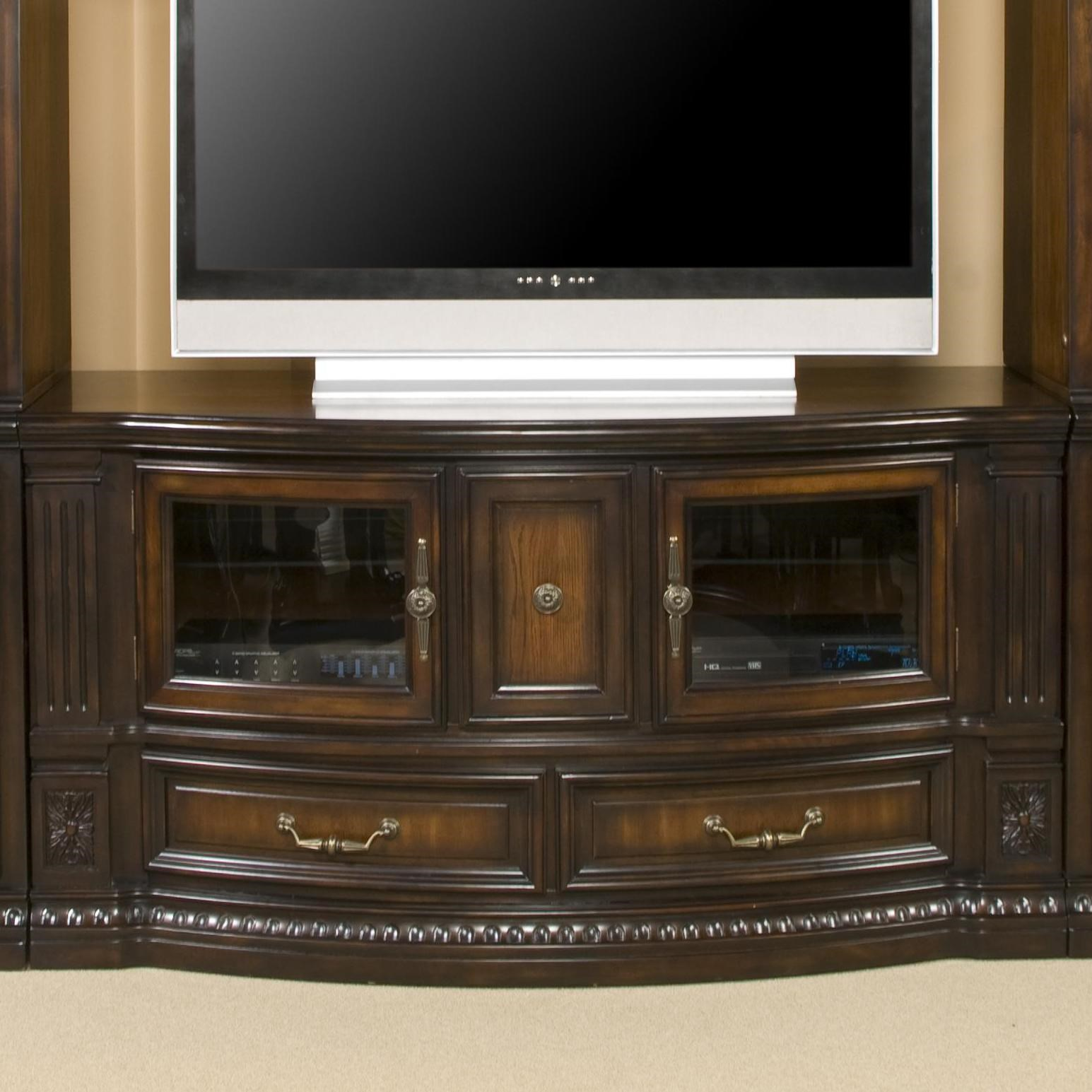 Media Stand Designs : Fairmont designs grand estates entertainment tv stand console