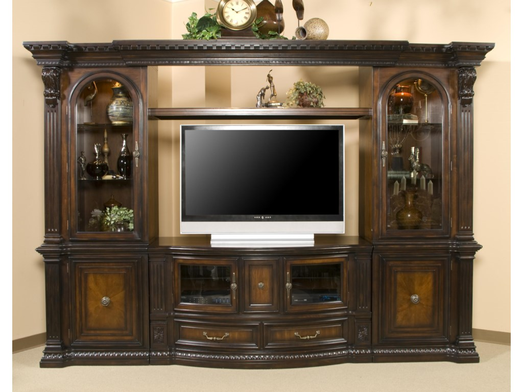 Morris Home Furnishings TV Stands Grand Rapids 62 Console Shown As Entertainment Center
