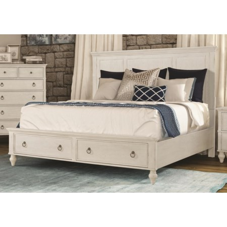 King Size Storage Bed