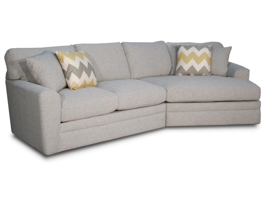 Chaise Cuddler Sectional