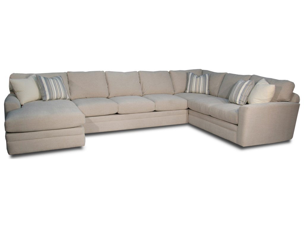 Palms 3-Piece Sofa Sectional by Fairmont Designs at Reeds Furniture