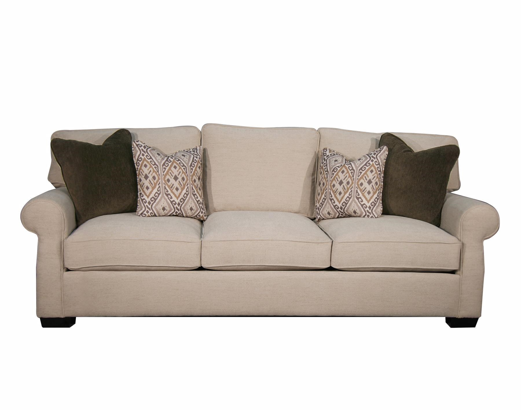 Fairmont Designs Rio Grande Stationary Sofa W/ Rolled Arms   Royal Furniture    Sofas