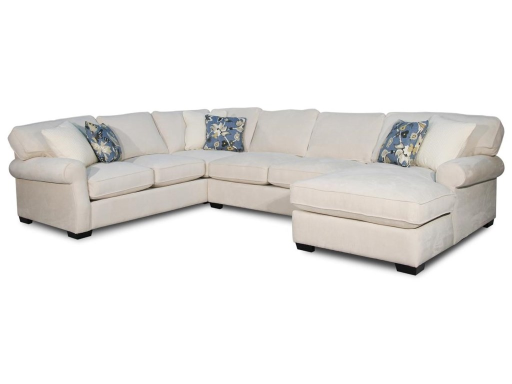 Rio Grande 3 PC Chaise Sectional by Fairmont Designs at Reeds Furniture