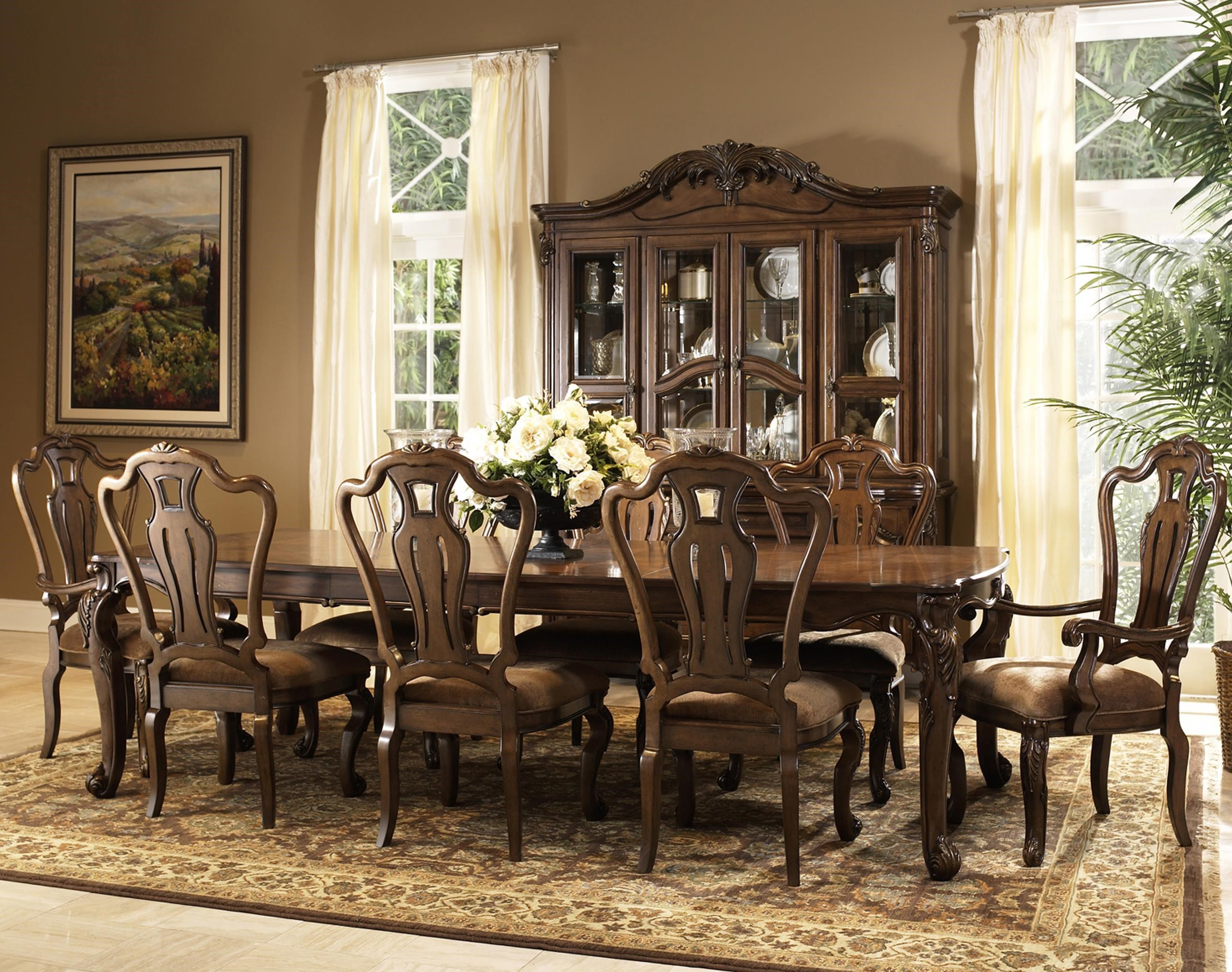 Amazing Rochelle 9 Piece Dining Table And Chair Set By Fairmont Designs