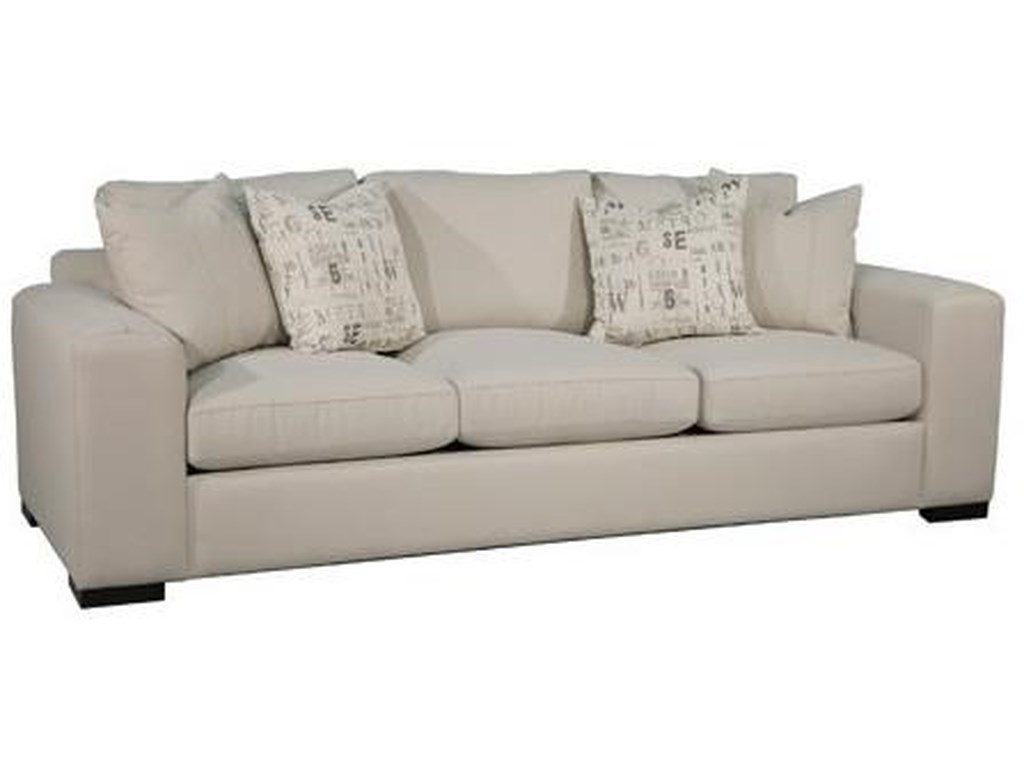 Vibe Contemporary Sofa With Top Sched Track Arms By Fairmont Designs