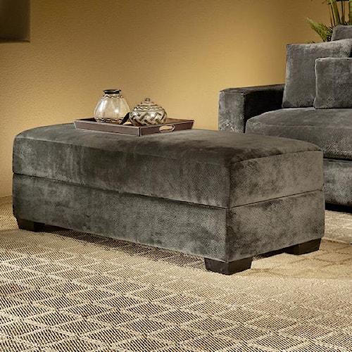 Fairmont Designs Billie Jean Upholstered Storage Ottoman w/ Lift Top