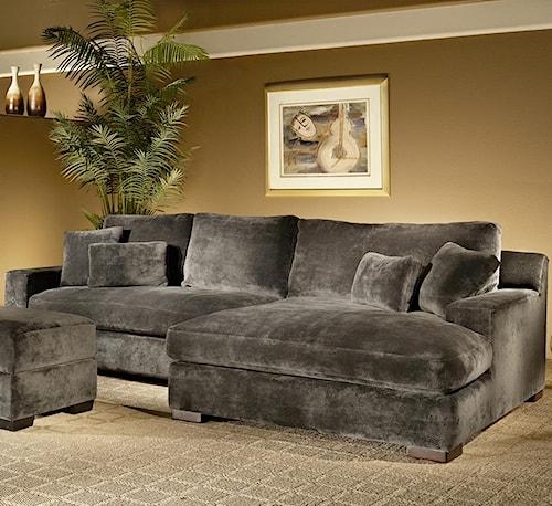 Fairmont Designs Billie Jean 2-Piece Sectional w/ Chaise