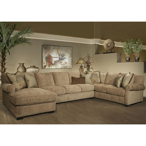 Fairmont Designs Rio Grande 3 Piece Sectional Dream Home
