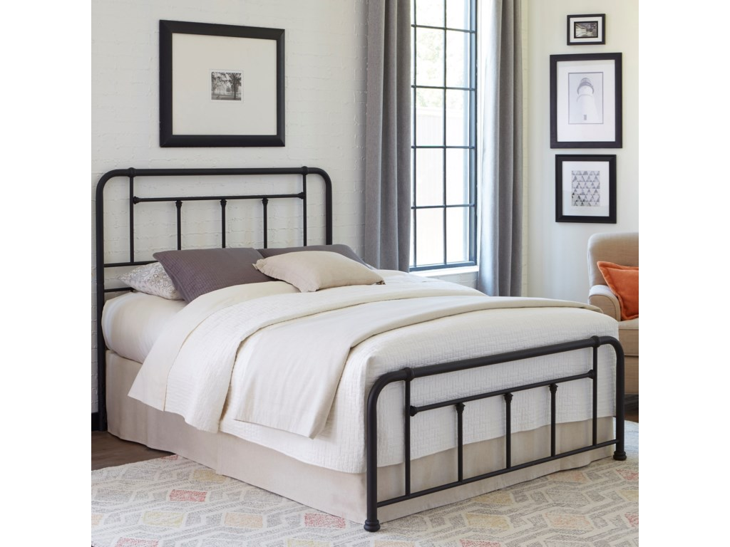 Fashion Bed Group BaldwinKing Baldwin Headboard and Footboard