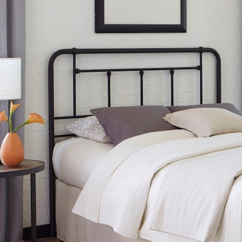 Fashion Bed Group Baldwin Queen Baldwin Metal Headboard with Detailed Castings