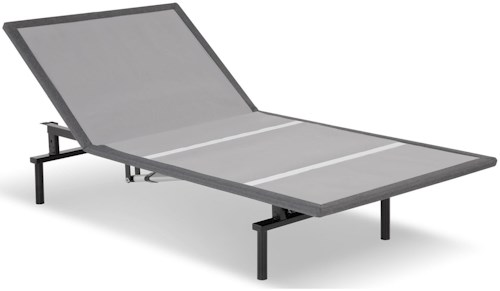 Fashion Bed Group Bas-X 2.0 Twin XL Bas-X 2.0 Low-Profile Adjustable Bed Base with Head Articulation and MicroHook Technology
