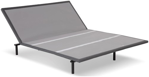 Fashion Bed Group Bas-X 2.0 Queen Bas-X 2.0 Low-Profile Adjustable Bed Base with Head Articulation and MicroHook Technology
