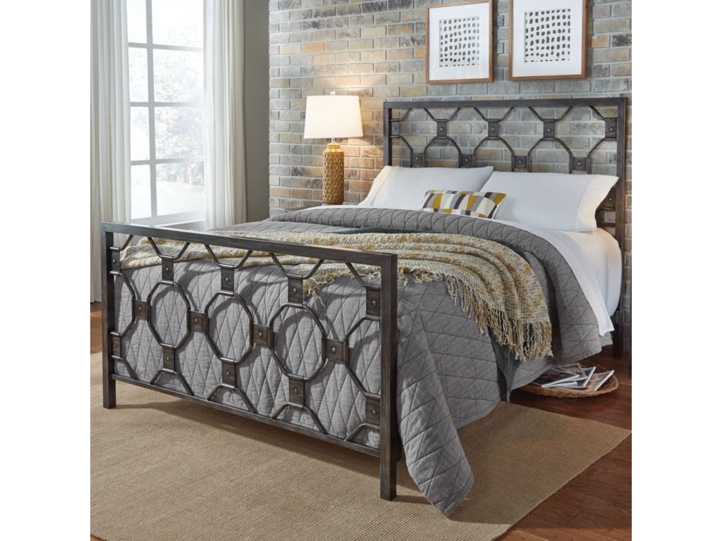 Fashion Bed Group BaxterQueen Baxter Headboard and Footboard