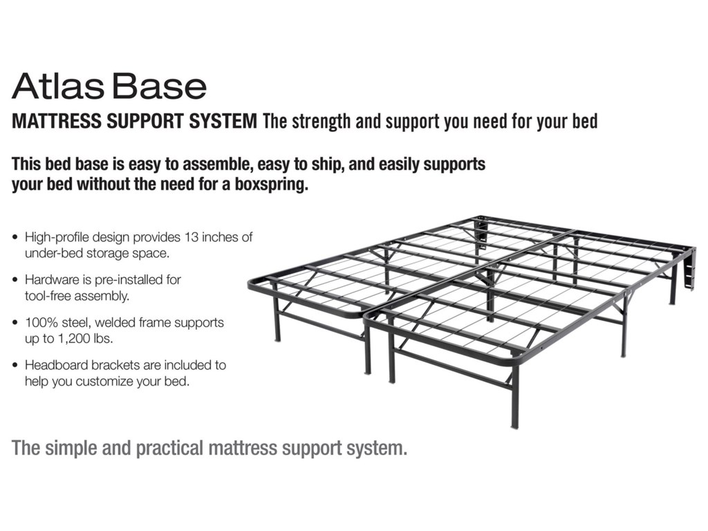 Fashion Bed Group Bedding SupportCal King Mattress Base