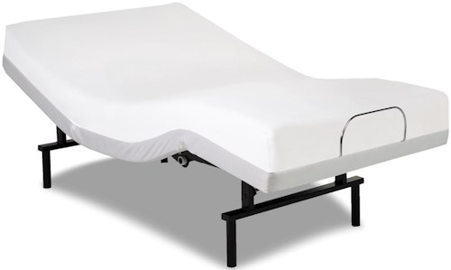 Fashion Bed Group Vibrance Vibrance Twin XL Adjustable Bed Base with Head and Foot Articulation