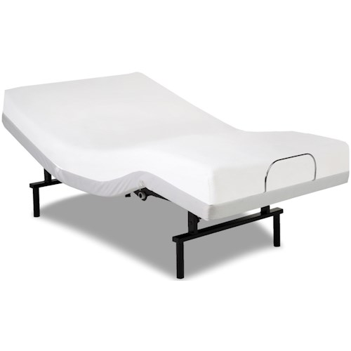 Fashion Bed Group Vibrance Vibrance Queen Adjustable Bed Base with Head and Foot Articulation
