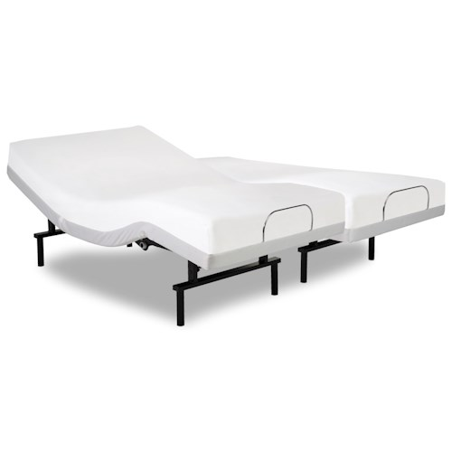 Fashion Bed Group Vibrance Vibrance Split Cal King Adjustable Bed Base with Head and Foot Articulation