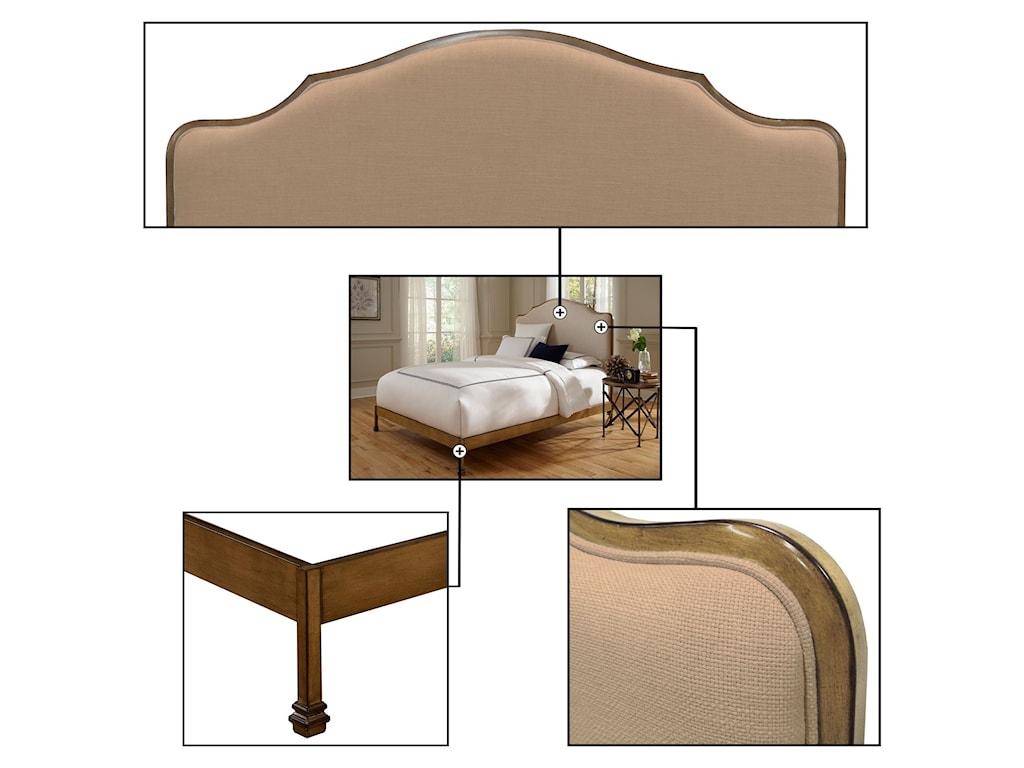 Fashion Bed Group CalvadosQueen Calvados Bed