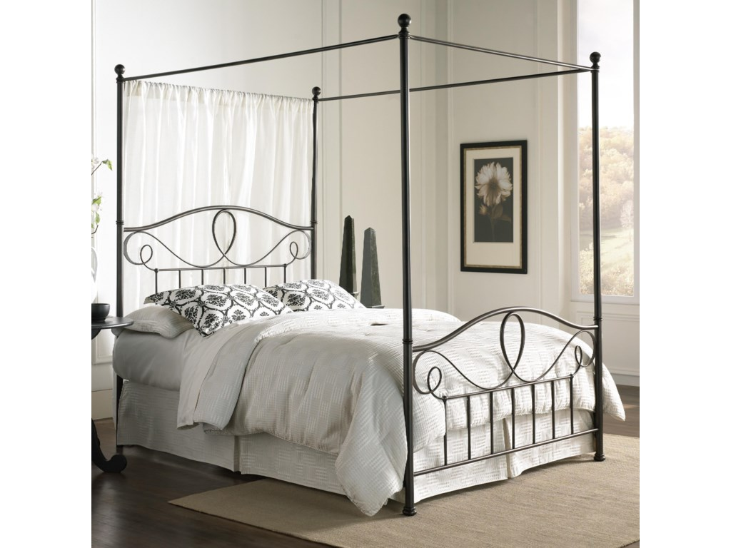 Fashion Bed Group Canopy BedsQueen Sylvania Canopy Bed