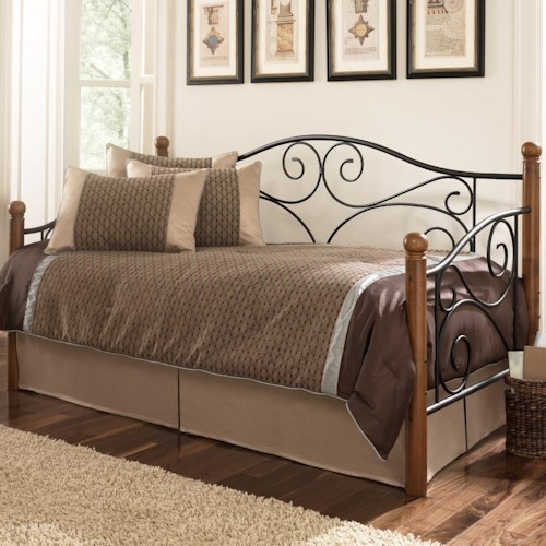 Fashion Bed Group Daybeds Doral Daybed w/ Link Spring