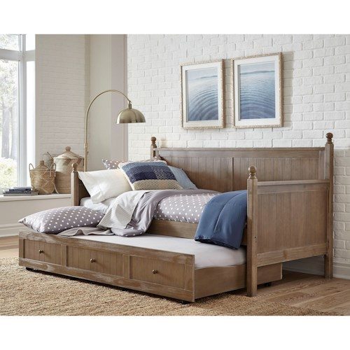 Fashion Bed Group Daybeds Carston Daybed with Trundle