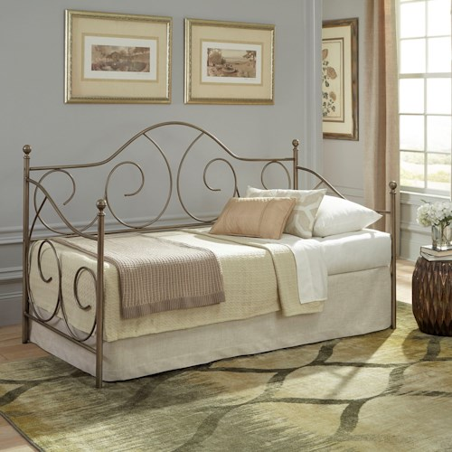 Fashion Bed Group Daybeds Cambry Daybed with Aged Iron