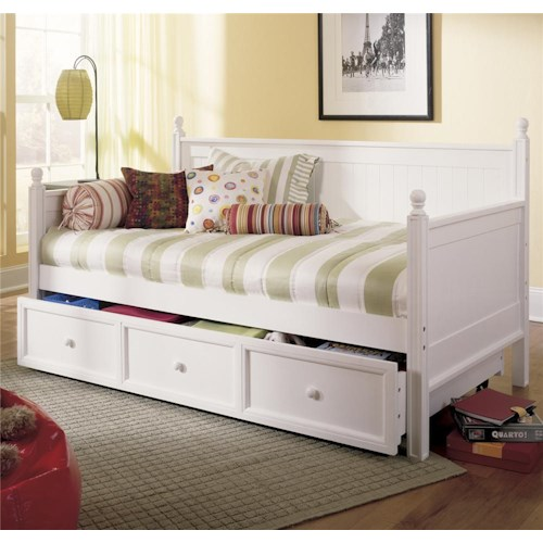 Fashion Bed Group Daybeds Casey II Daybed w/ Trundle