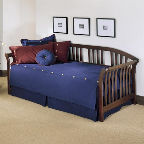 Fashion Bed Group Daybeds Salem Daybed w/ Linkspring