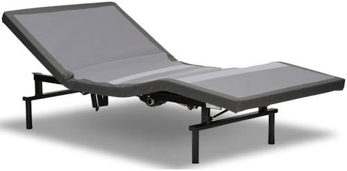 Fashion Bed Group Falcon  Twin Falcon Adjustable Bed Base with MicroHook Retention System