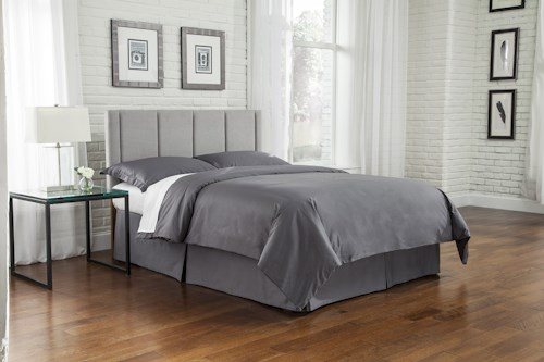 Fashion Bed Group Geneva Full/Queen Upholstered Headboard